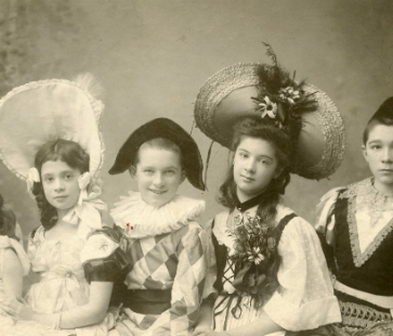 Family Costume Party 1905