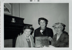 1958 Photo of Calgary Women's Literary Club members